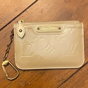Louis Vuitton Vernis Coin and Key Wallet
